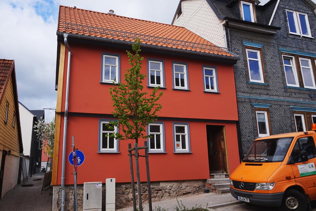 Fassaden Malerbetrieb Krannich Ilmenau