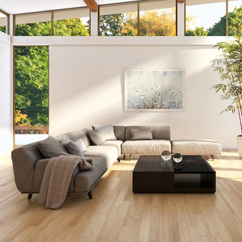 Bodenbelag - PVC-Belag Wohnraum