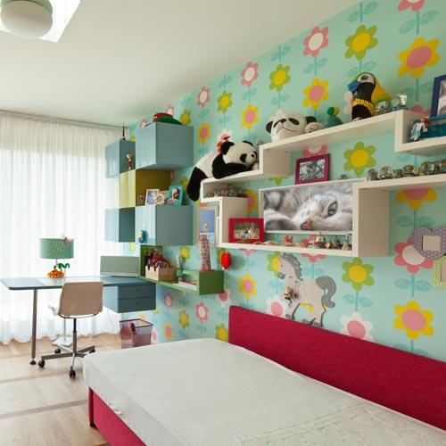 Mustertapete Kinderzimmer